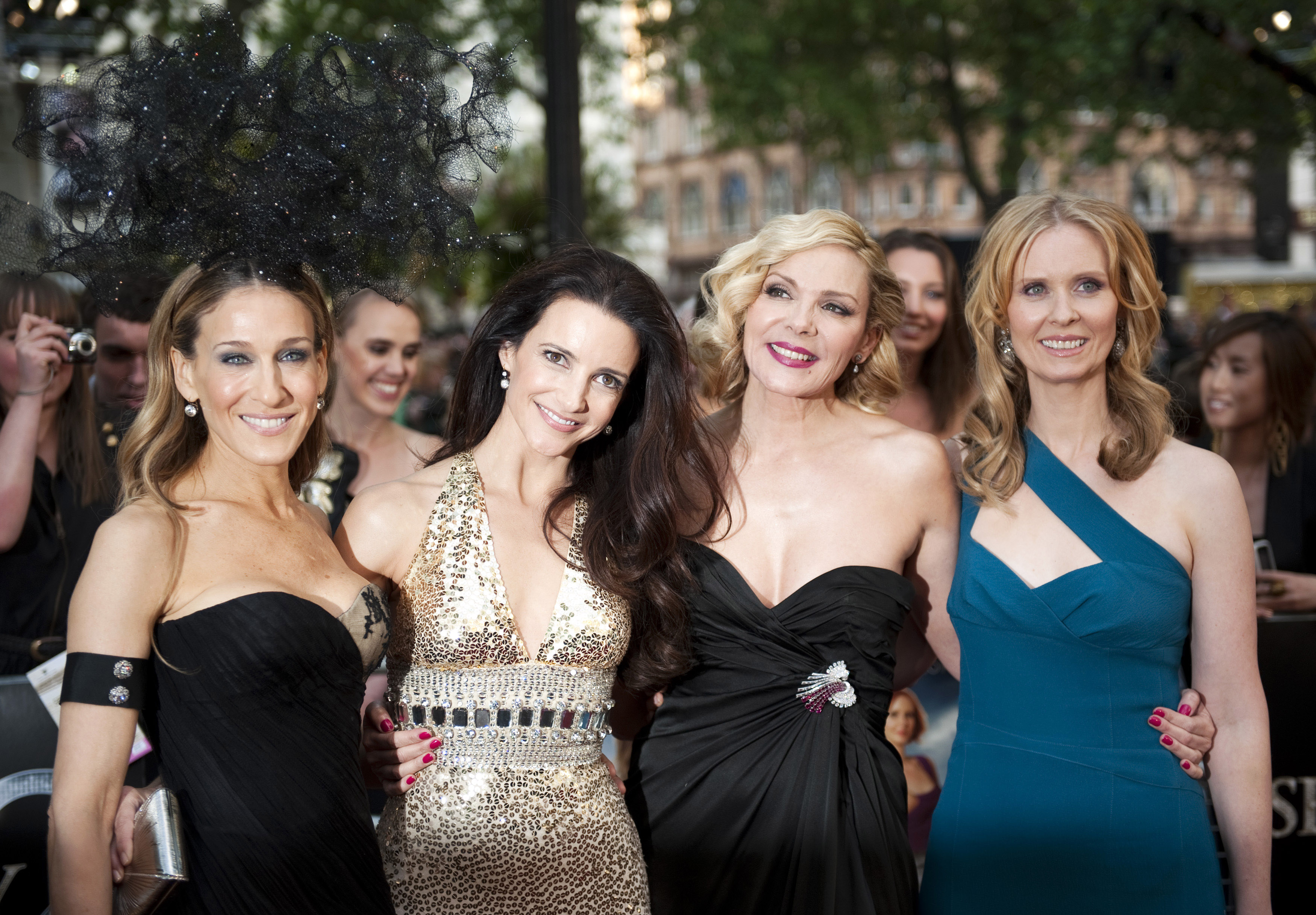 Satc cast genuinely care about each other says source
