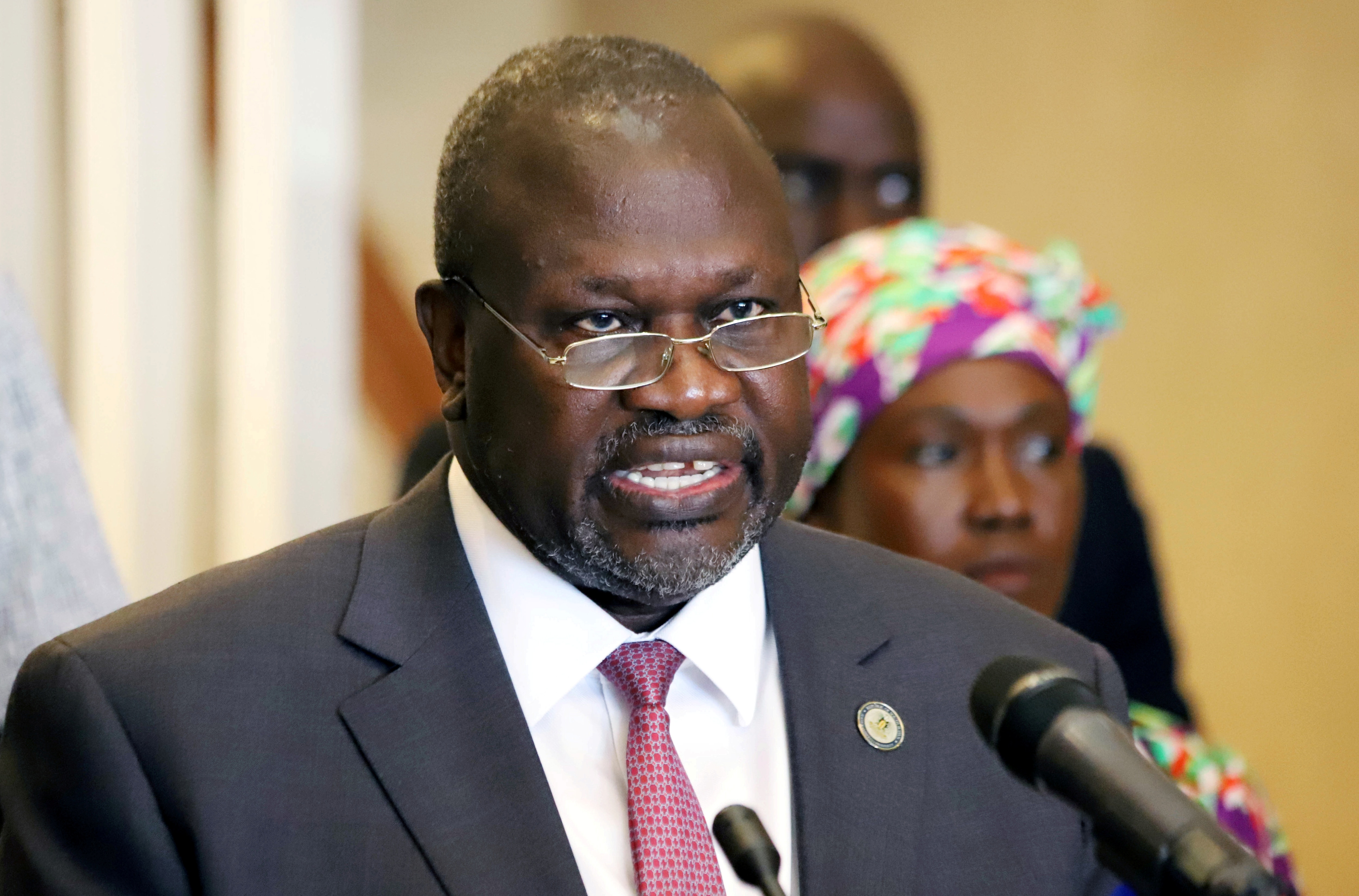 Rival Leaders: South Sudan's VP Machar Deposed by Party