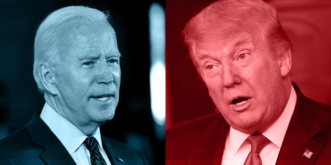 Trump, Biden Question Each Others Fitness for Office