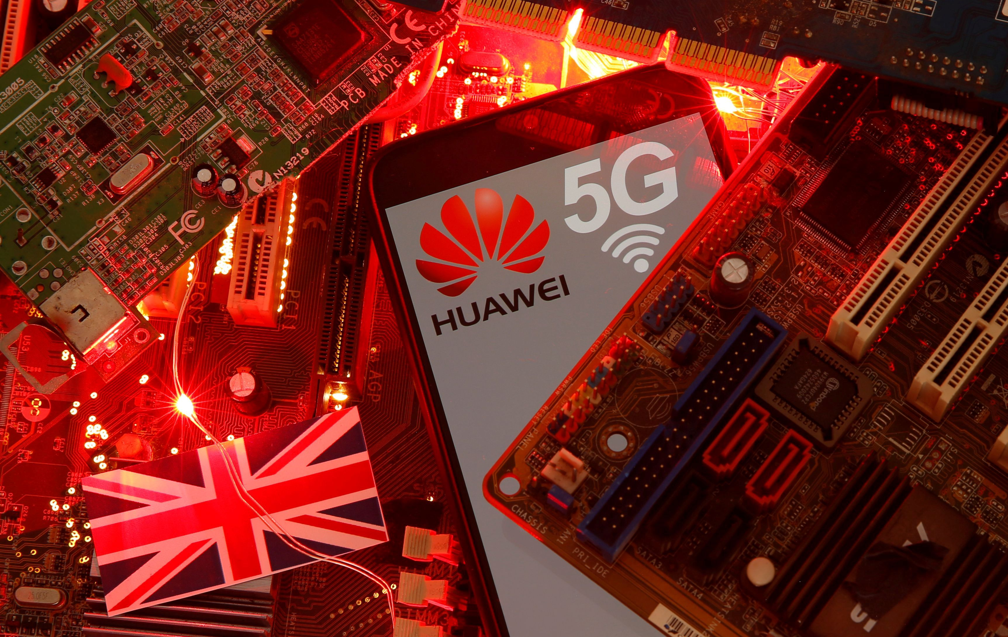 Britain Fears Chinese Government Retaliation Over Huawei, 5G...