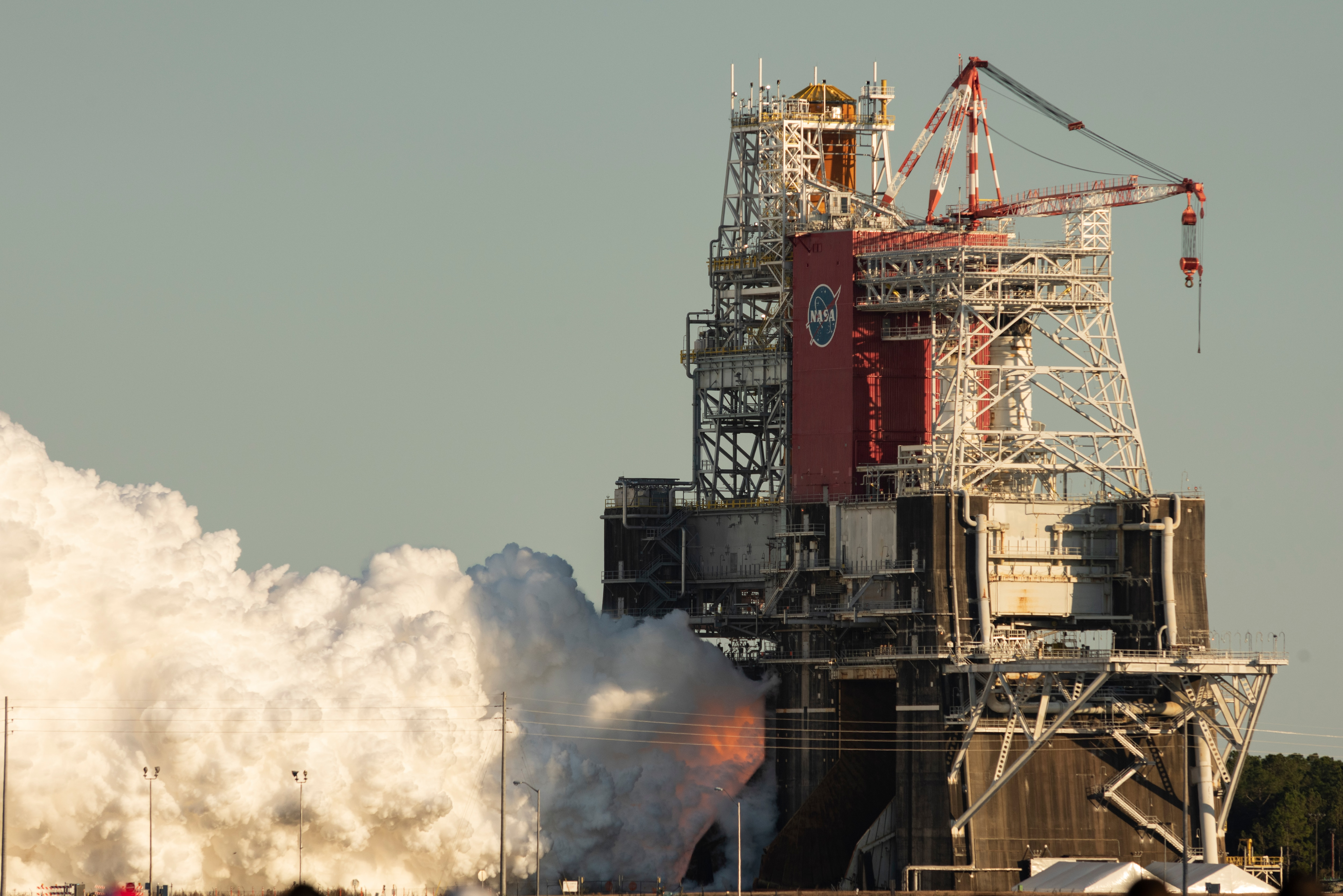 NASA's testing of the Boeing Moon Moon rocket has been shortened  Voice of America