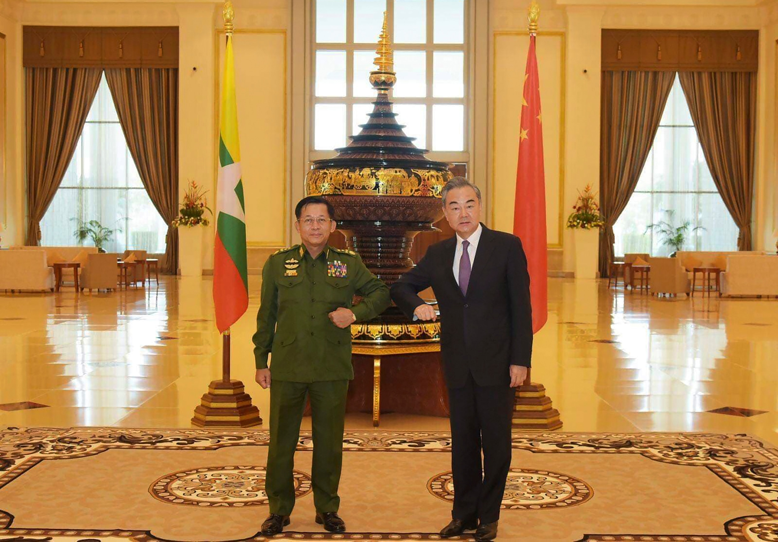 Myanmar Junta Seen Cozying Up to China if West Gets Tough | Voice of  America - English