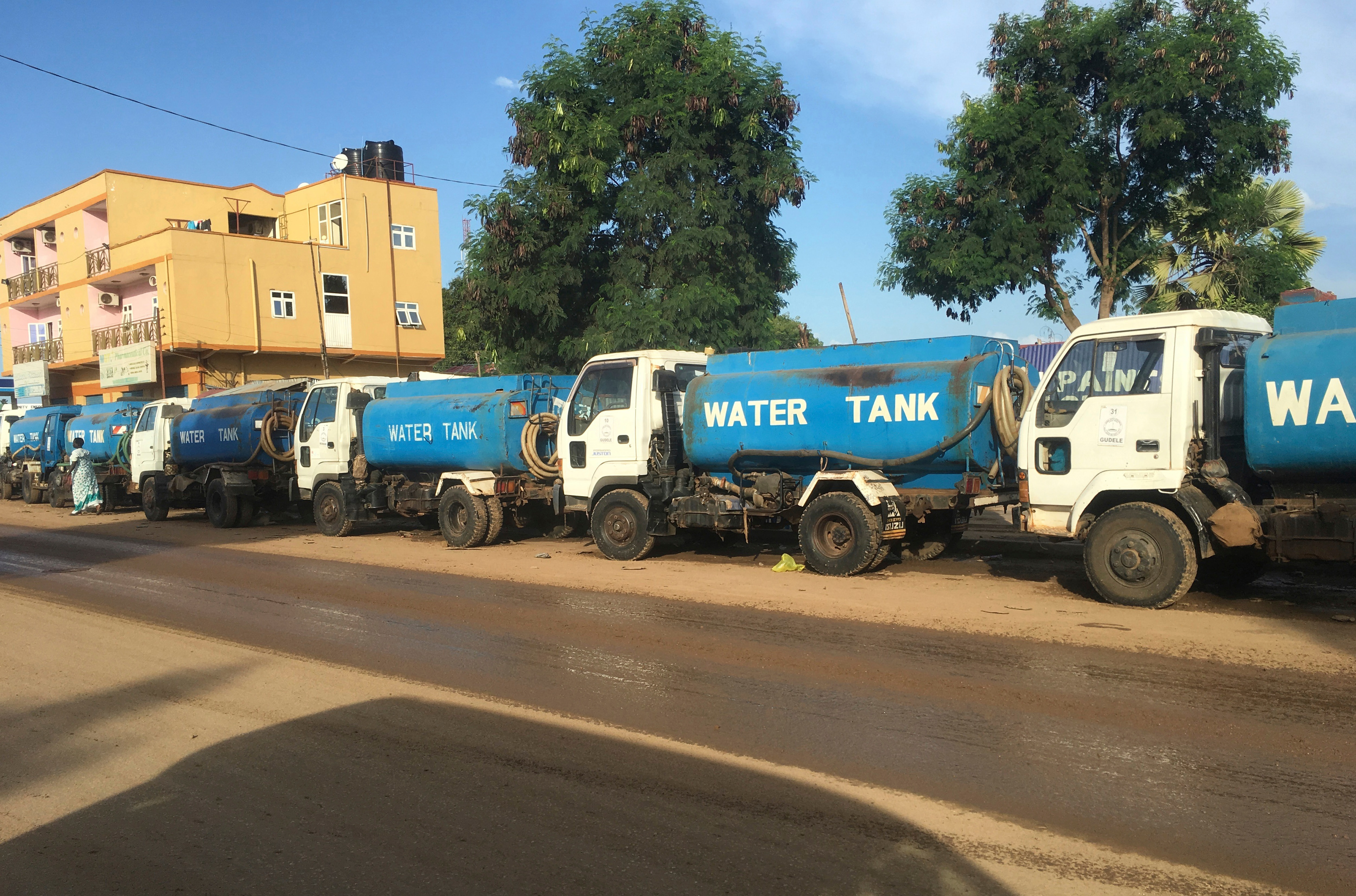 Commercial Trucks Refusing to Enter South Sudan Because of Insecurity