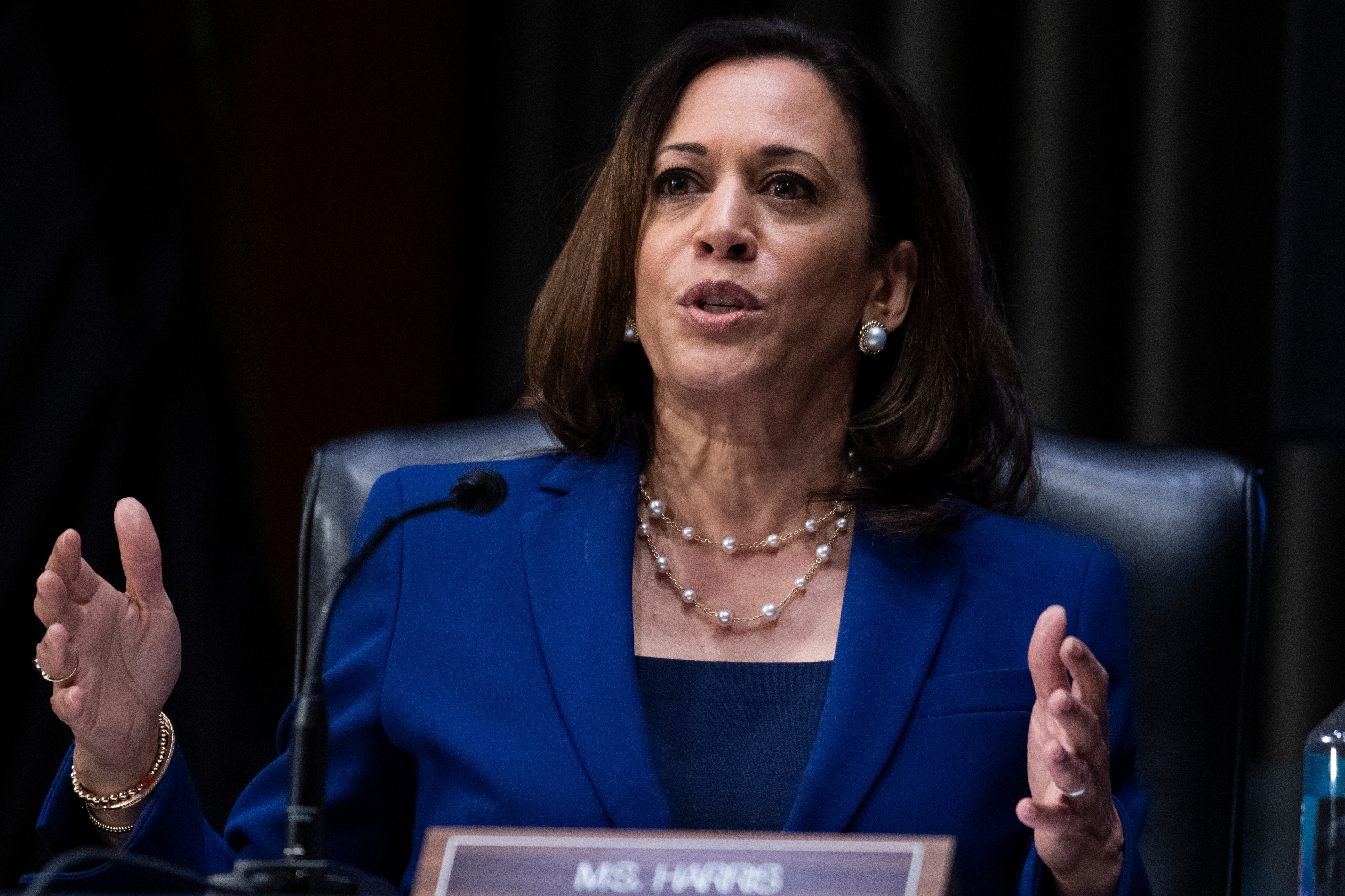 Kamala Harris Once A Presidential Candidate Returns To Race Voice Of America English