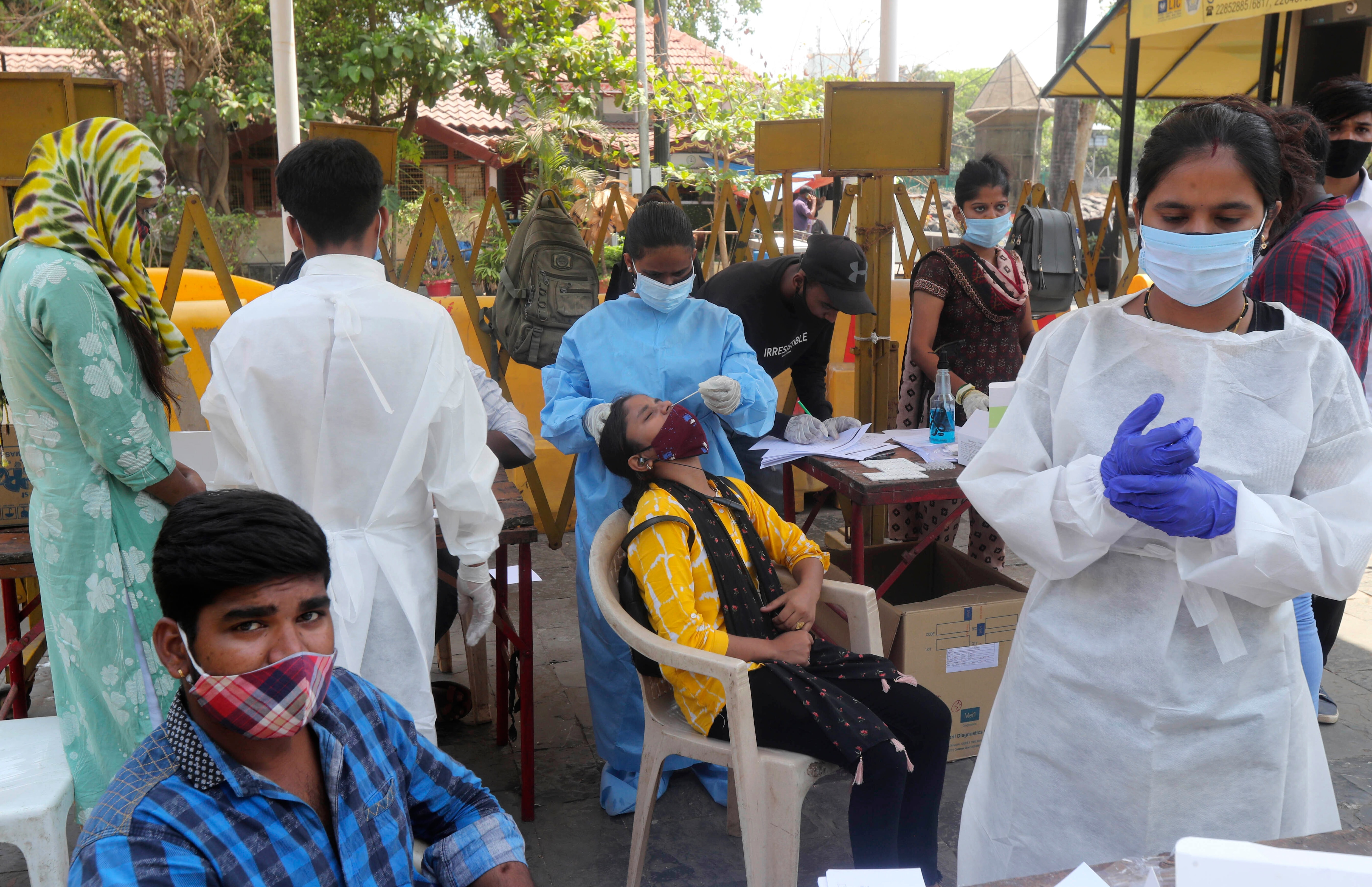 India Reaches Record Number of Daily COVID Cases