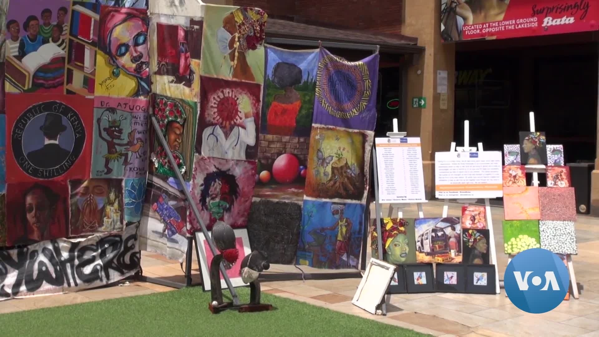 Kenyan Artists Use their Craft to Spread Messages About COVID-19