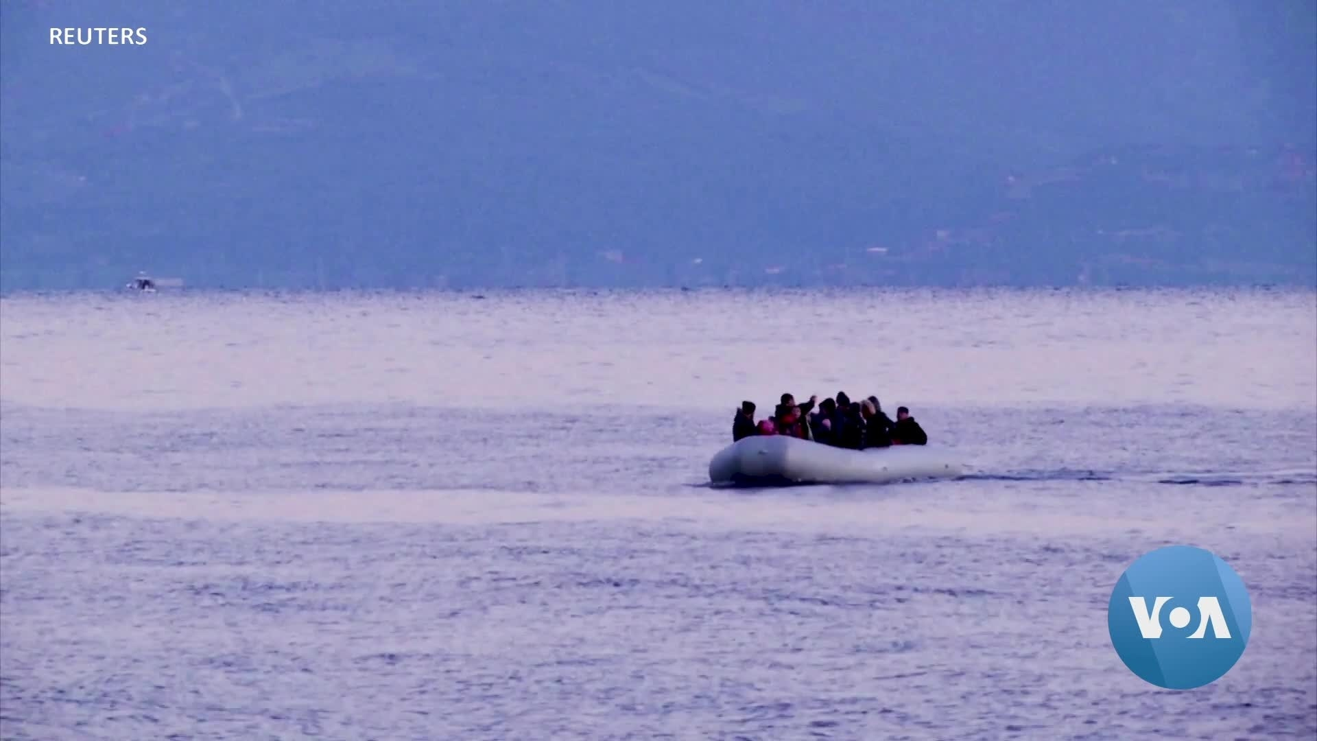 Refugees Abandoned at Sea Between Turkey and Greece
