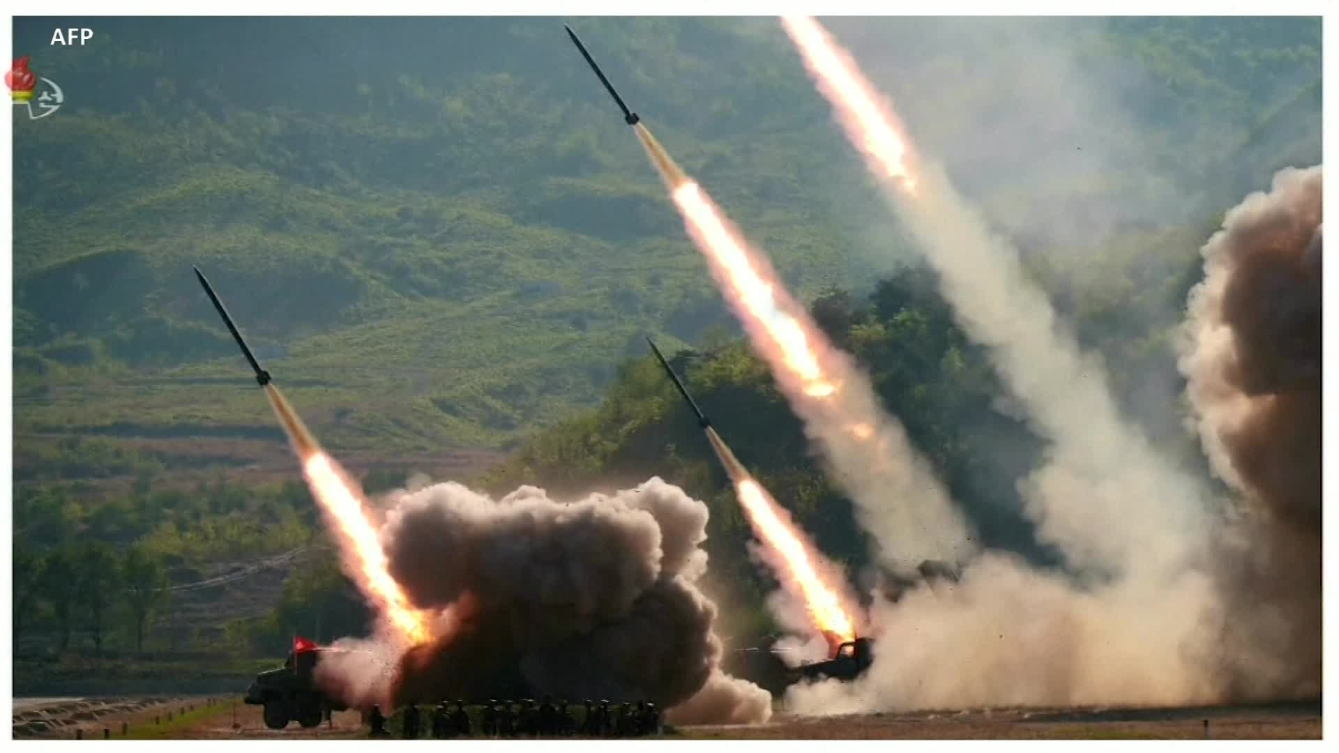 North Korea Fires 2 Short-Range Missiles, in Message to US