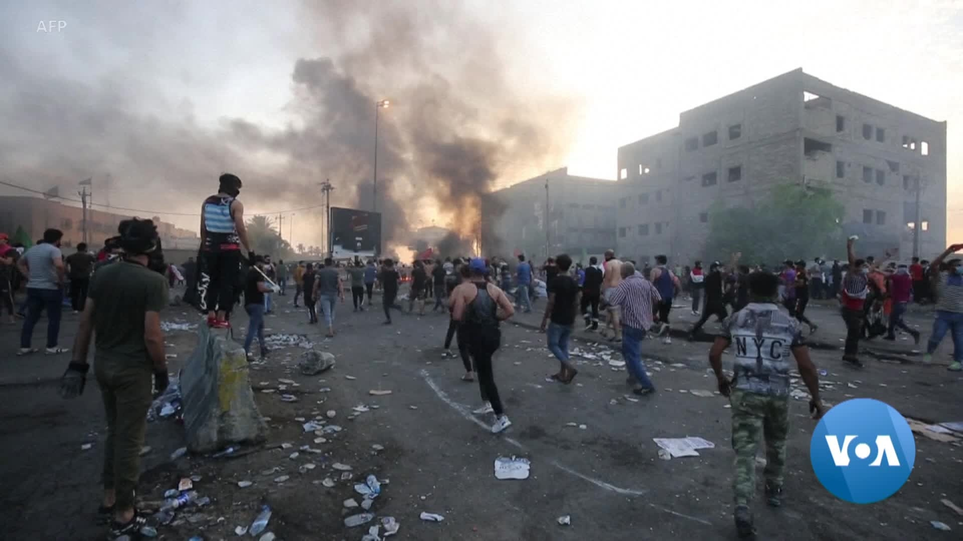 Iraq's Prime Minister Promises to Listen to Grievances After Deadly Protests