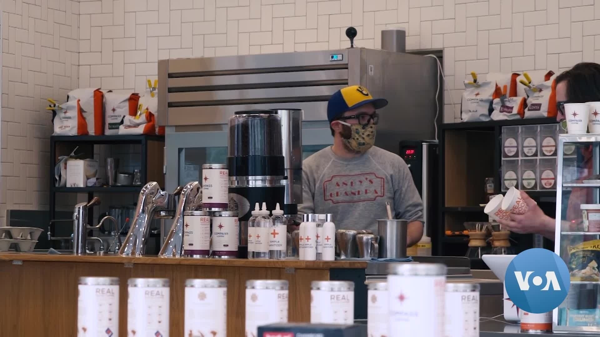 From Syrup to Sanitizer, Coffee House Adapts to COVID-19 Reality