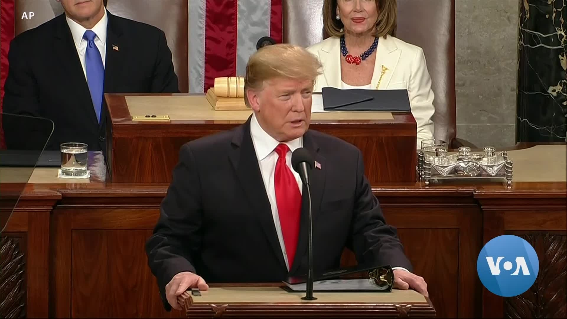 Trump's State of the Union Under Cloud of Impeachment