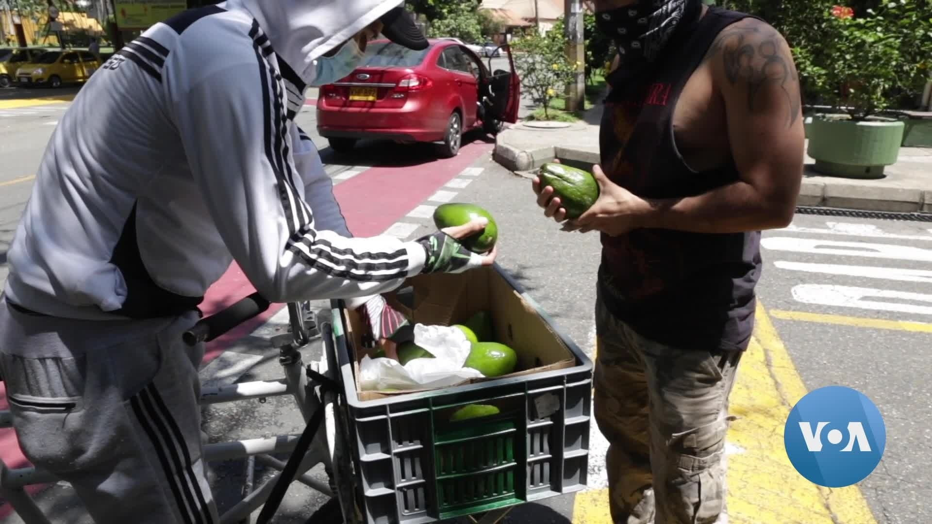 In the Pandemic, Colombia's Street Vendors Adapt or Go Hungry