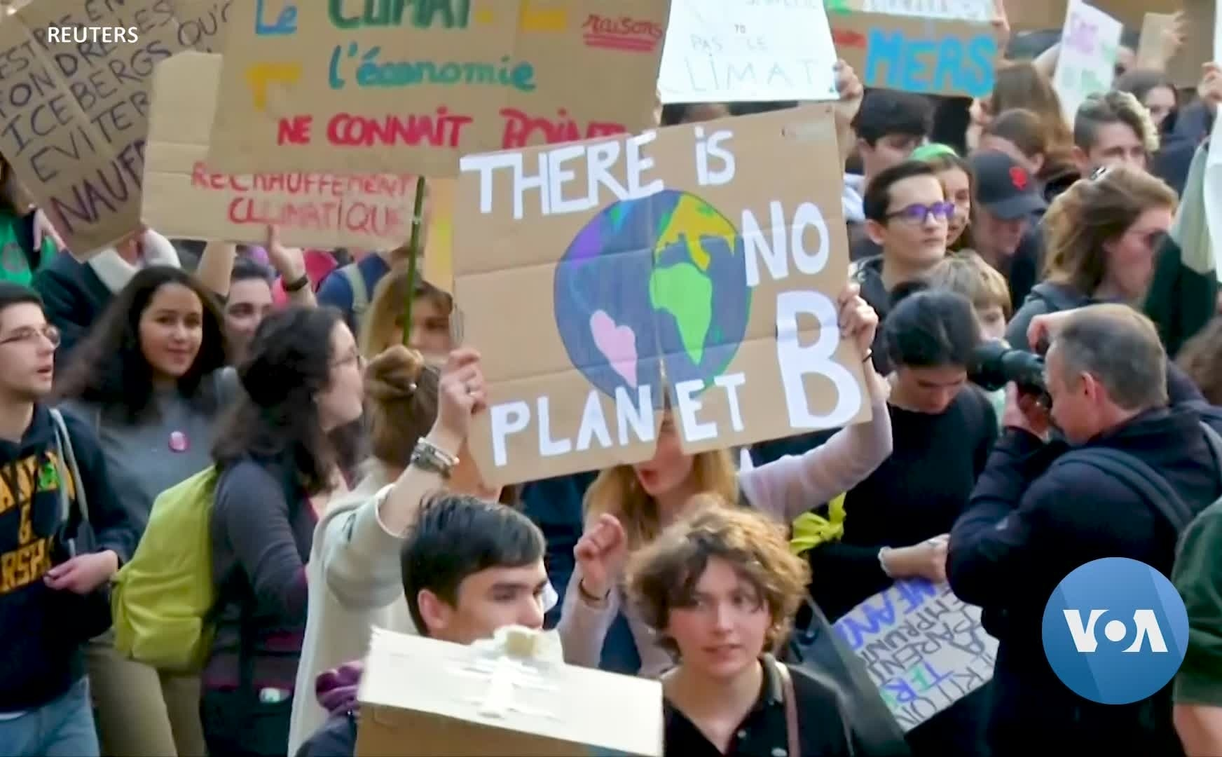 Young People Demand Urgent Action on Climate Change