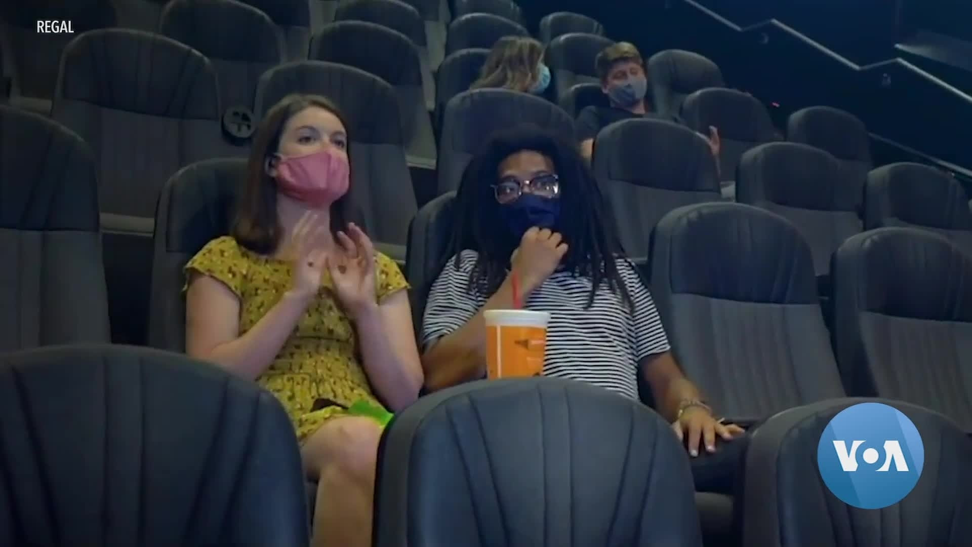 New York Movie Theaters Prepare to Reopen