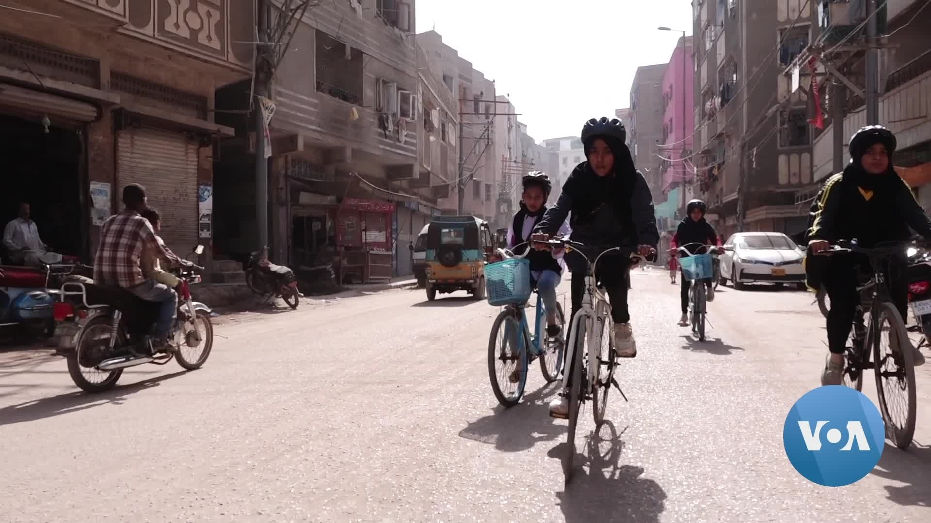 Cycling is Their Activism: How Some Young Girls in Pakistan Are Fighting for Public Space
