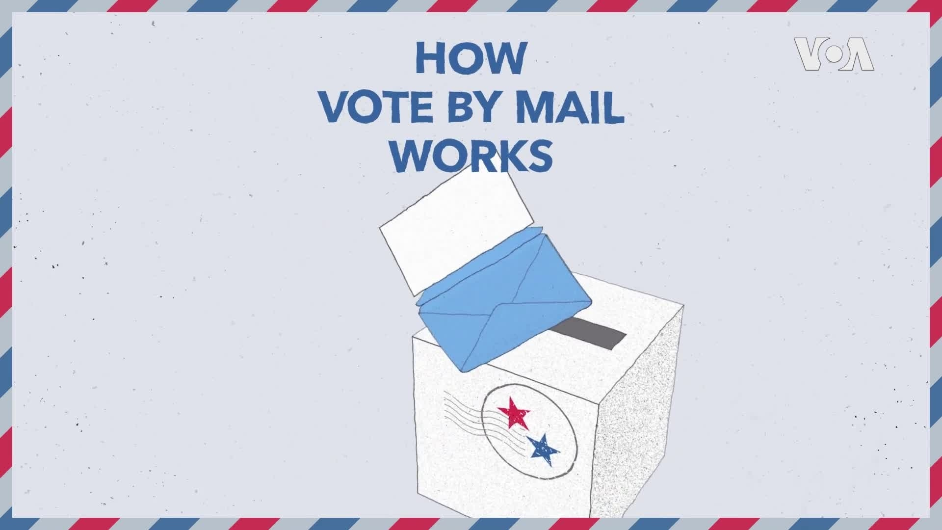 Vote by Mail Explainer