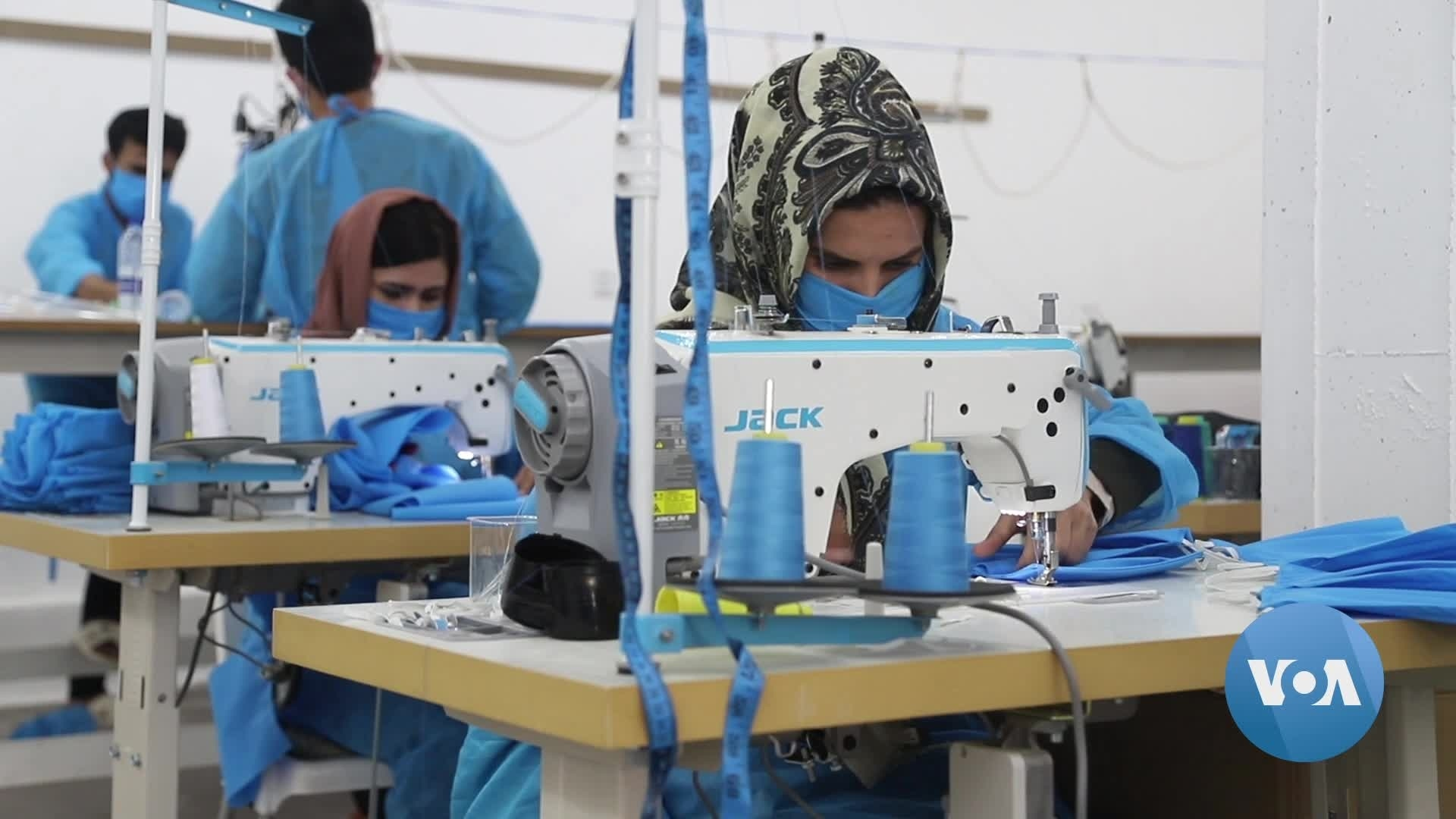 Small Garment Factory In Northeast Iraq Now Makes Face Masks