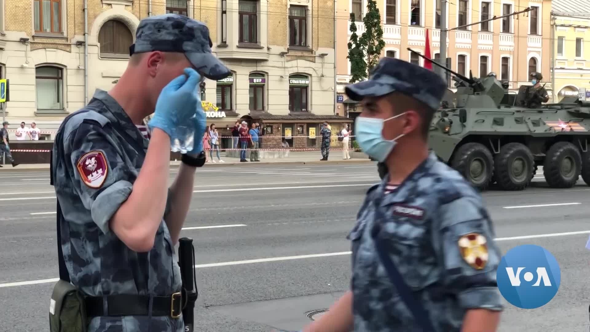 Dismissing Coronavirus Fears, Moscow Opens Up for Business…and a Military Parade