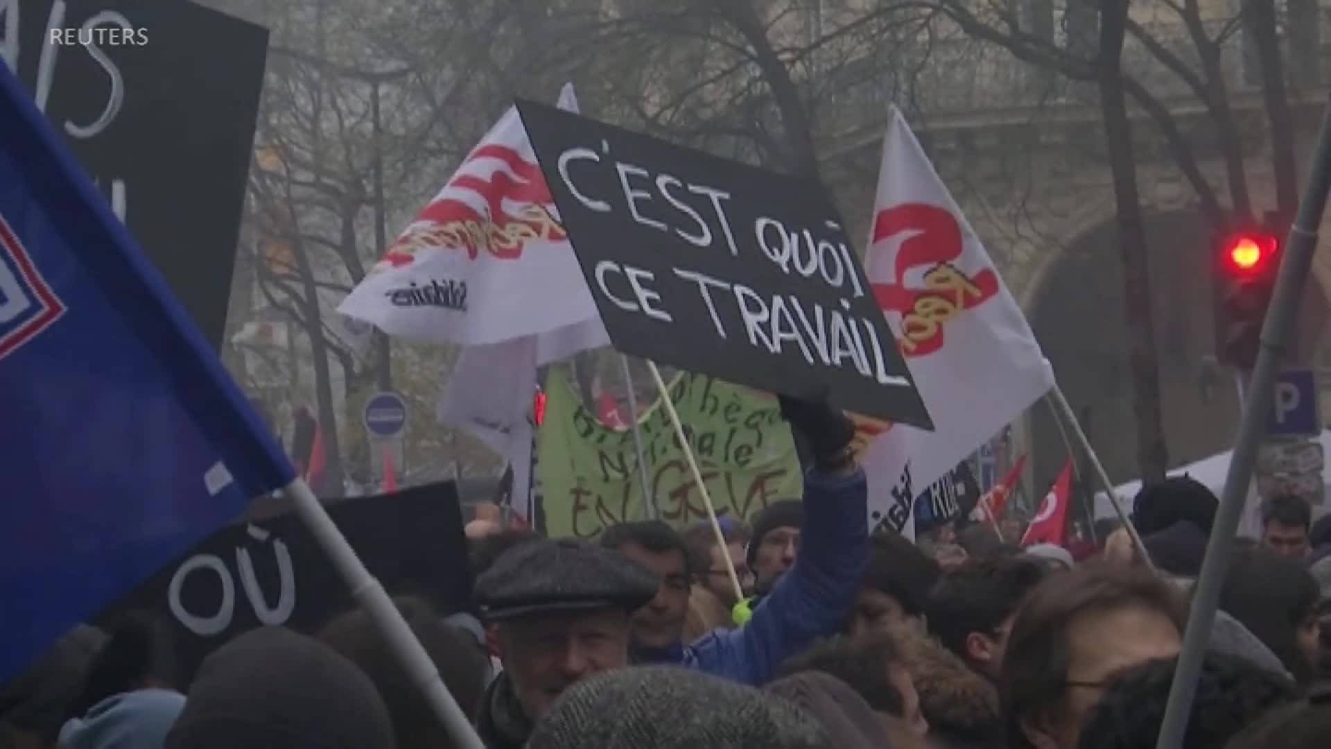 Nationwide Strike Paralyzes France