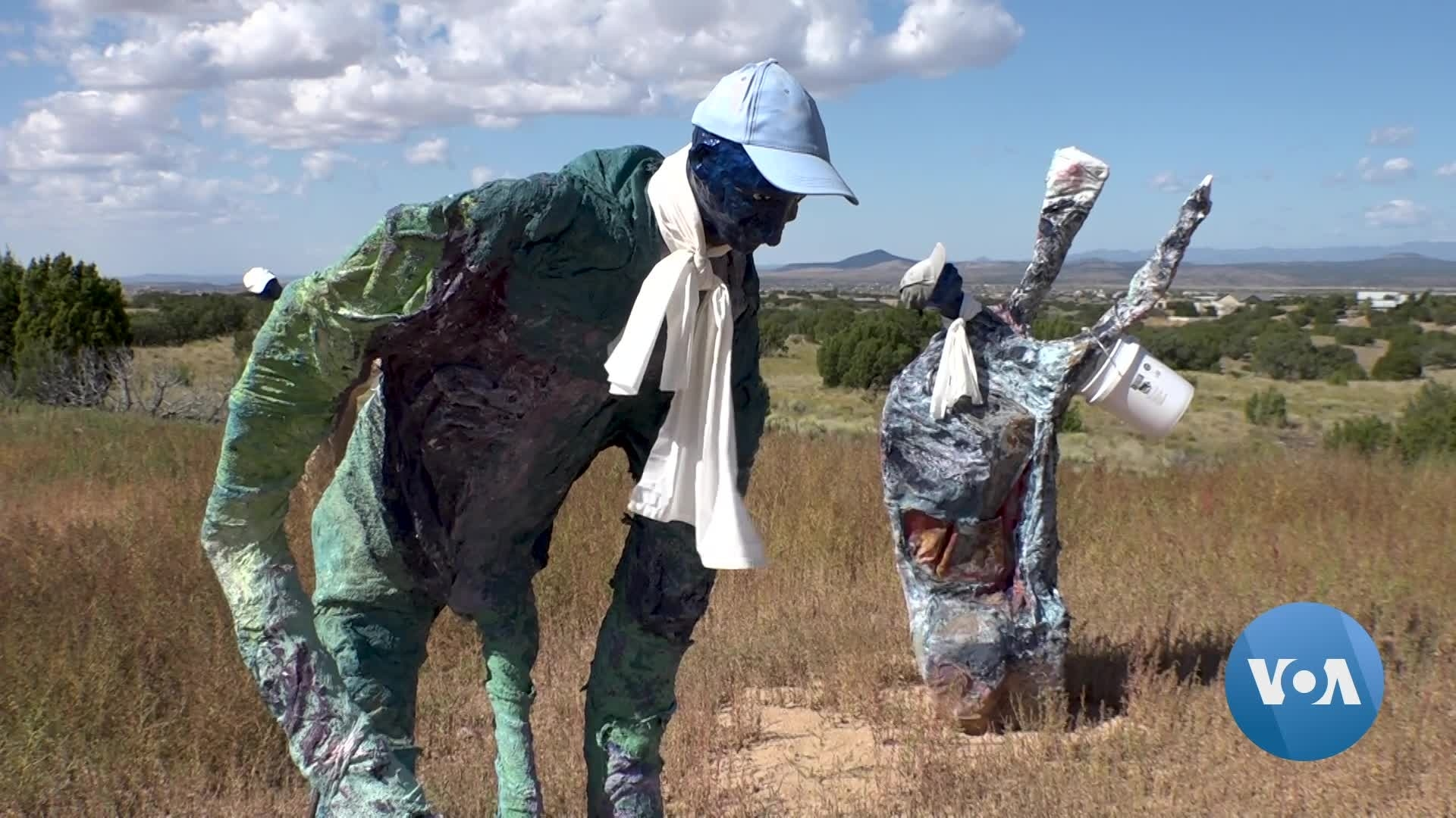 Artist Uses Sculptures to Examine Racial Violence