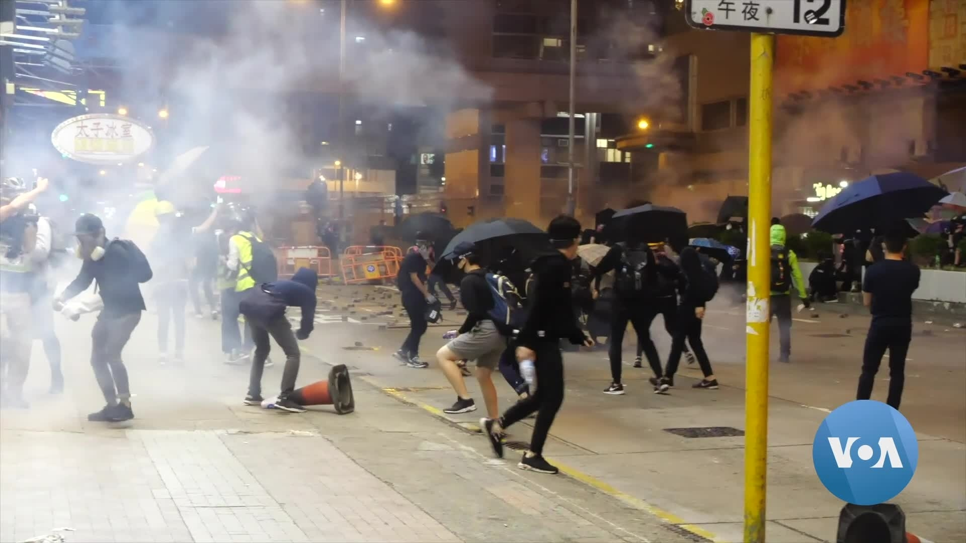 Hong Kong Protests Enter New, More Violent Phase