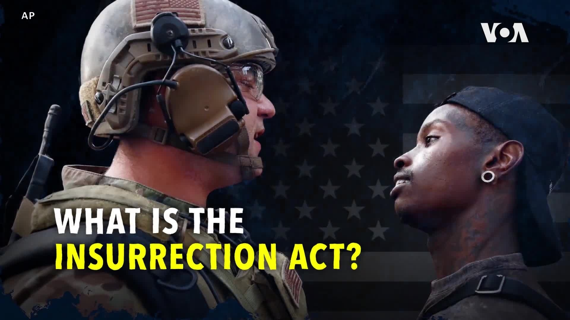 What Is The Insurrection Act Voice Of America English