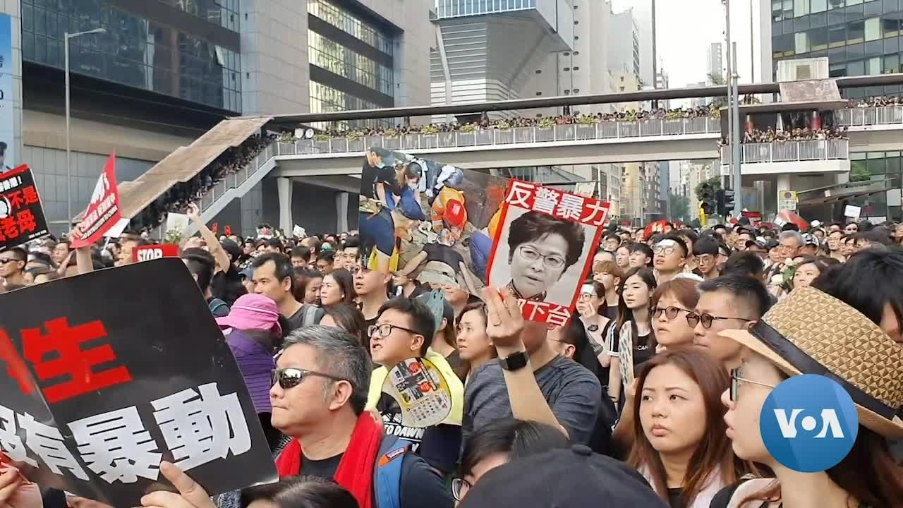Hong Kong Protesters say Just Pausing Extradition Bill is Not Enough