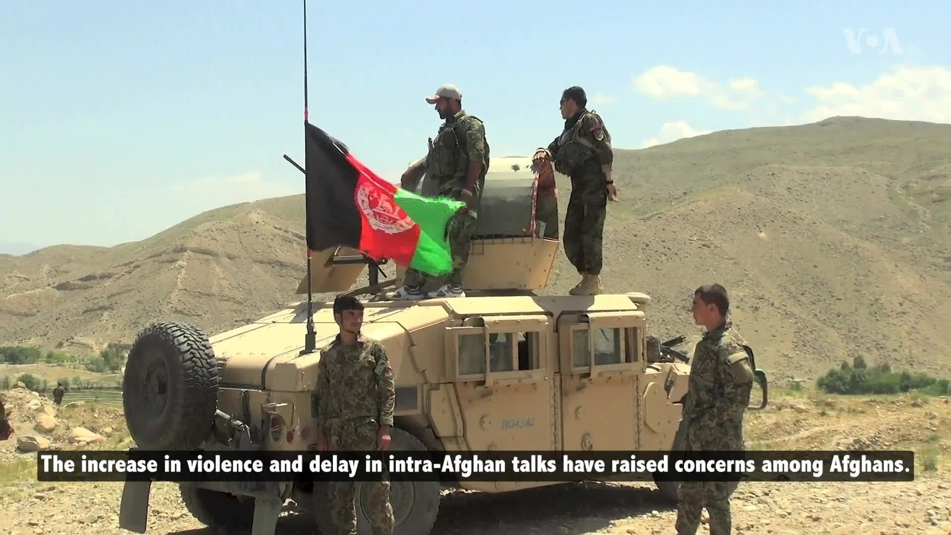 Afghan Government: Taliban Increase Attacks on Afghan Forces