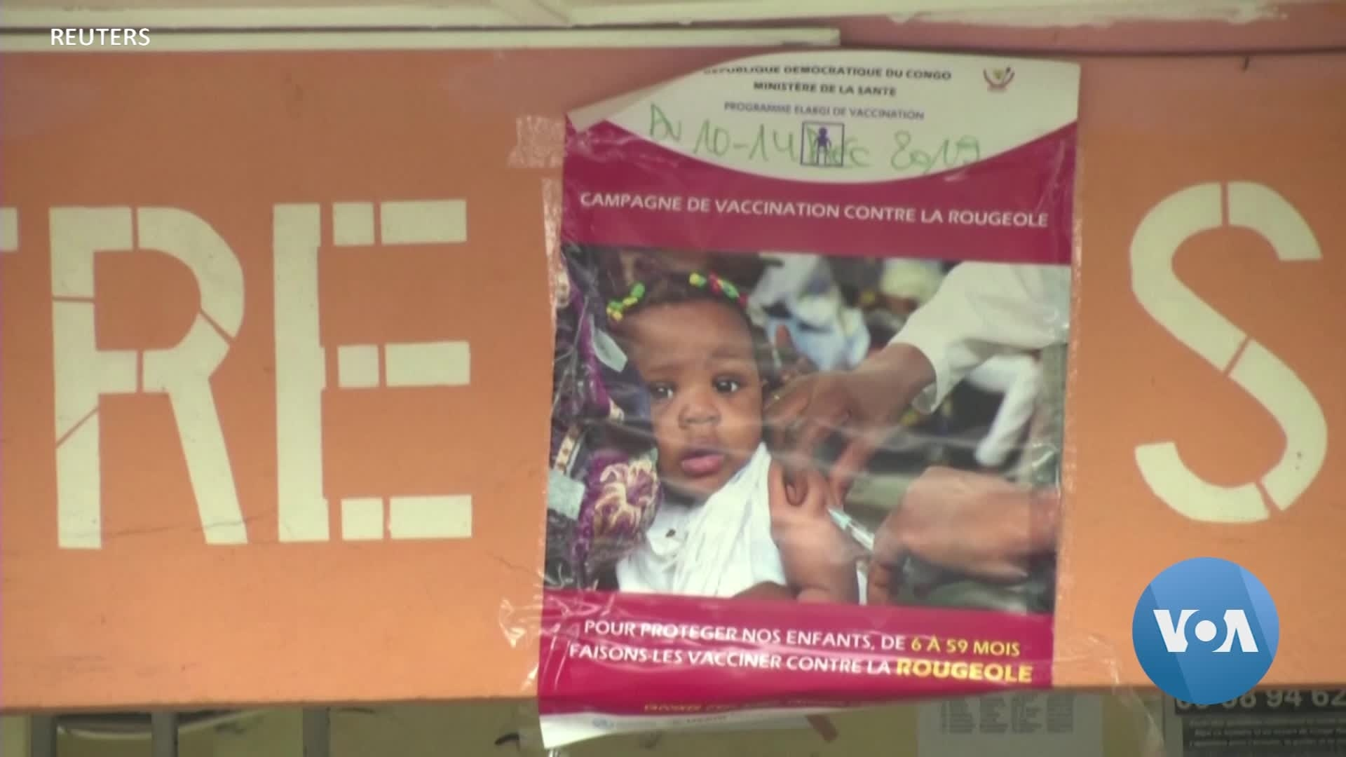 DRC, WHO Roll Out Measles Immunization Campaign Amid Unrest