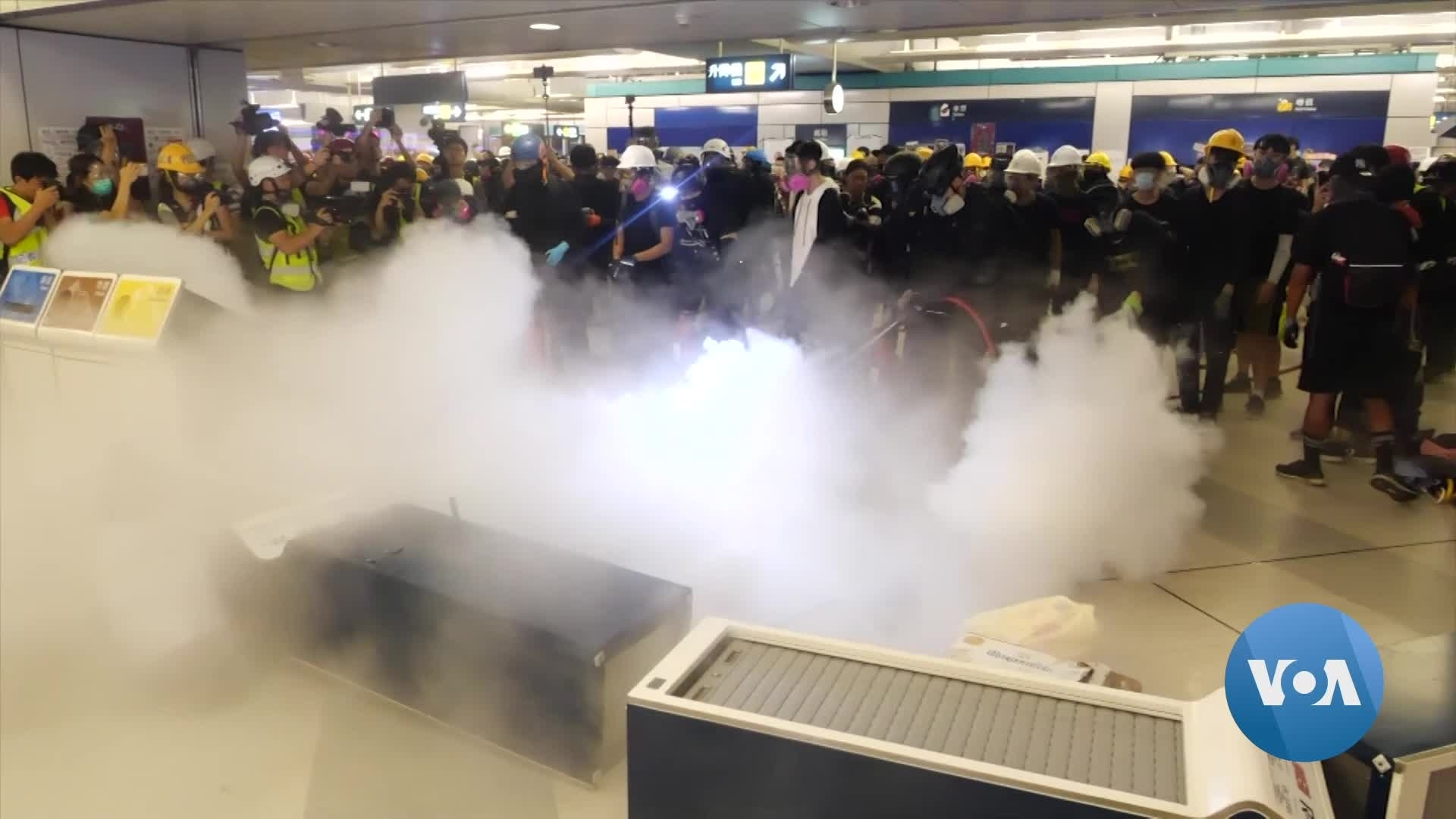 Hong Kong's Quietly Confrontational Protests
