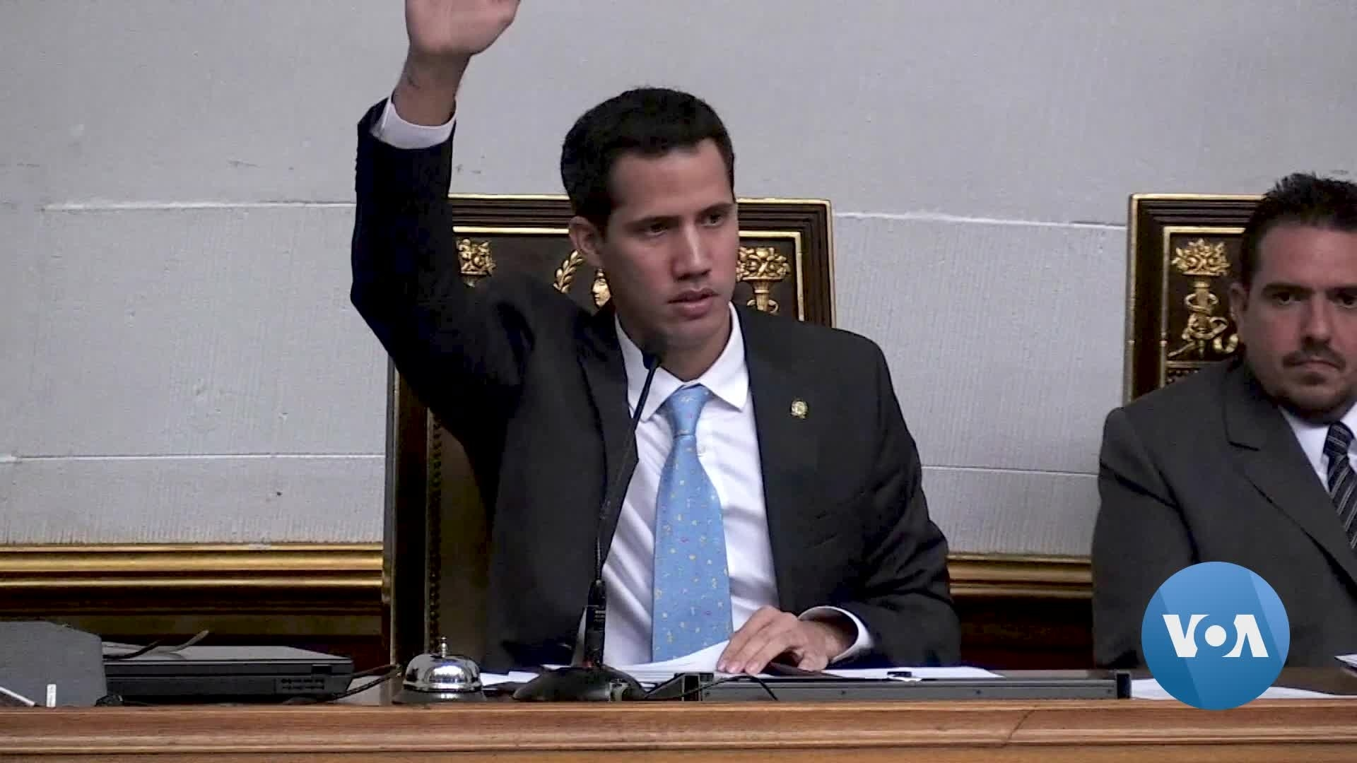 Venezuela's Guaido Defies Travel Ban to Rally Diplomatic Support