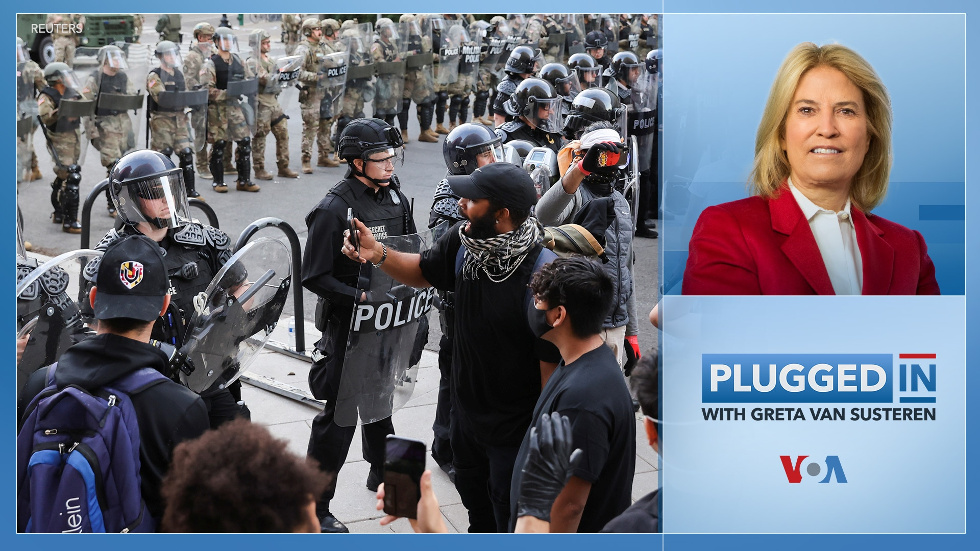 Plugged In with Greta Van Susteren-Protests In America