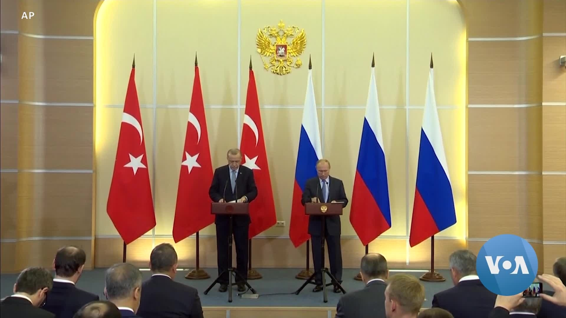 Turkey, Russia Agree on Joint Control of Syrian Area Bordering Turkey