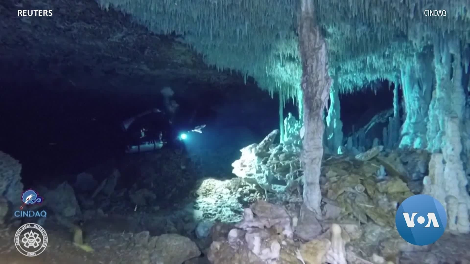 Divers in Mexico Discover Ancient Mining Operation