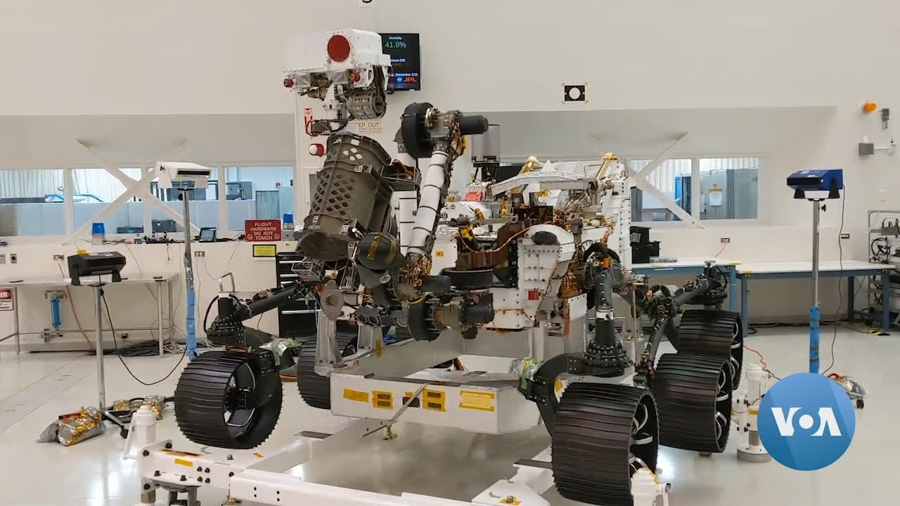 NASA Preps New Mars Rover for Special Mission