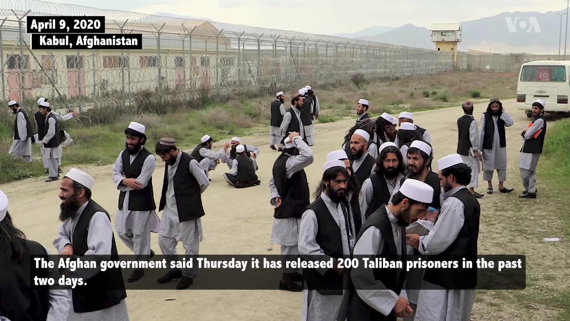 Afghanistan Releases 100 More Taliban Prisoners Despite Major Concerns
