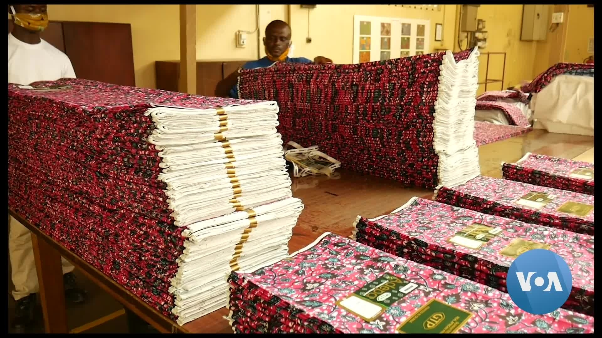 Threads of Hope for Ghana's Once Vibrant Textile Industry