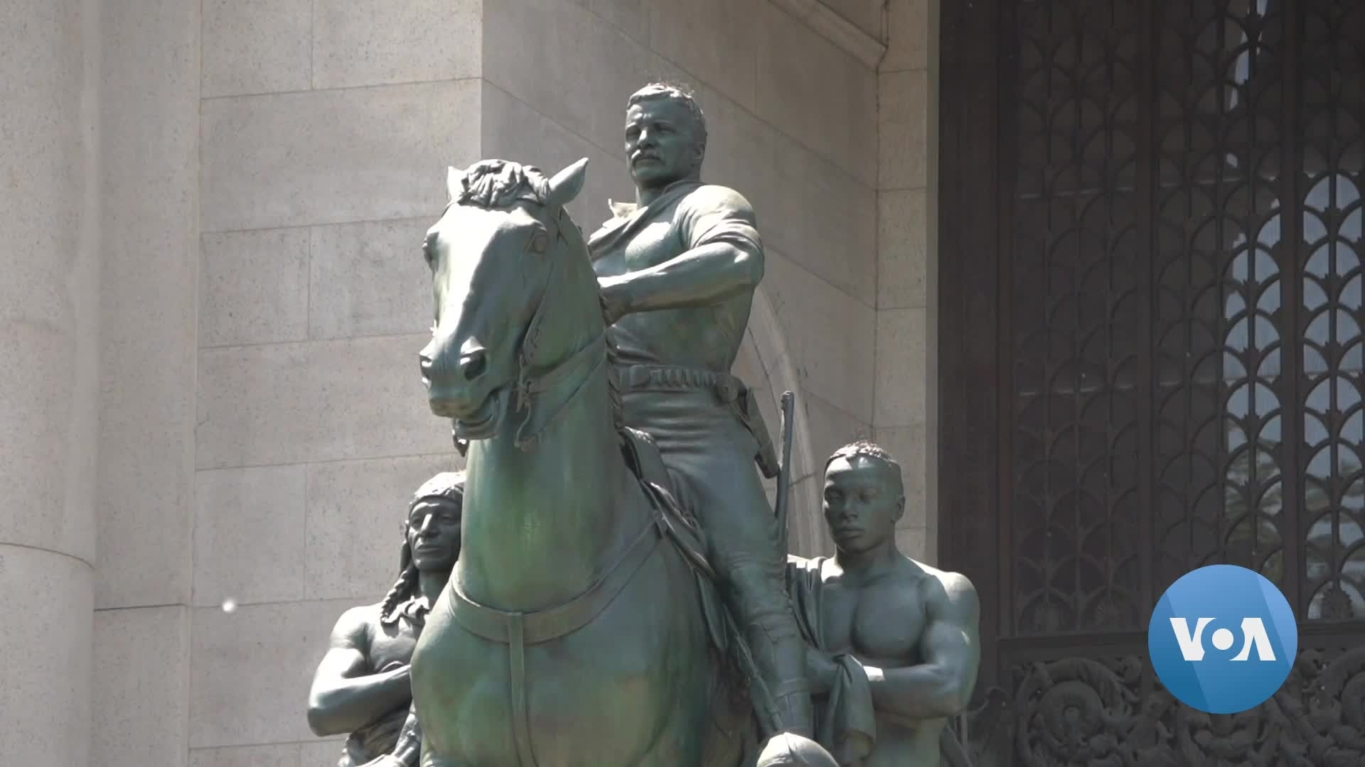 Roosevelt Statue to Be Removed from New York Museum