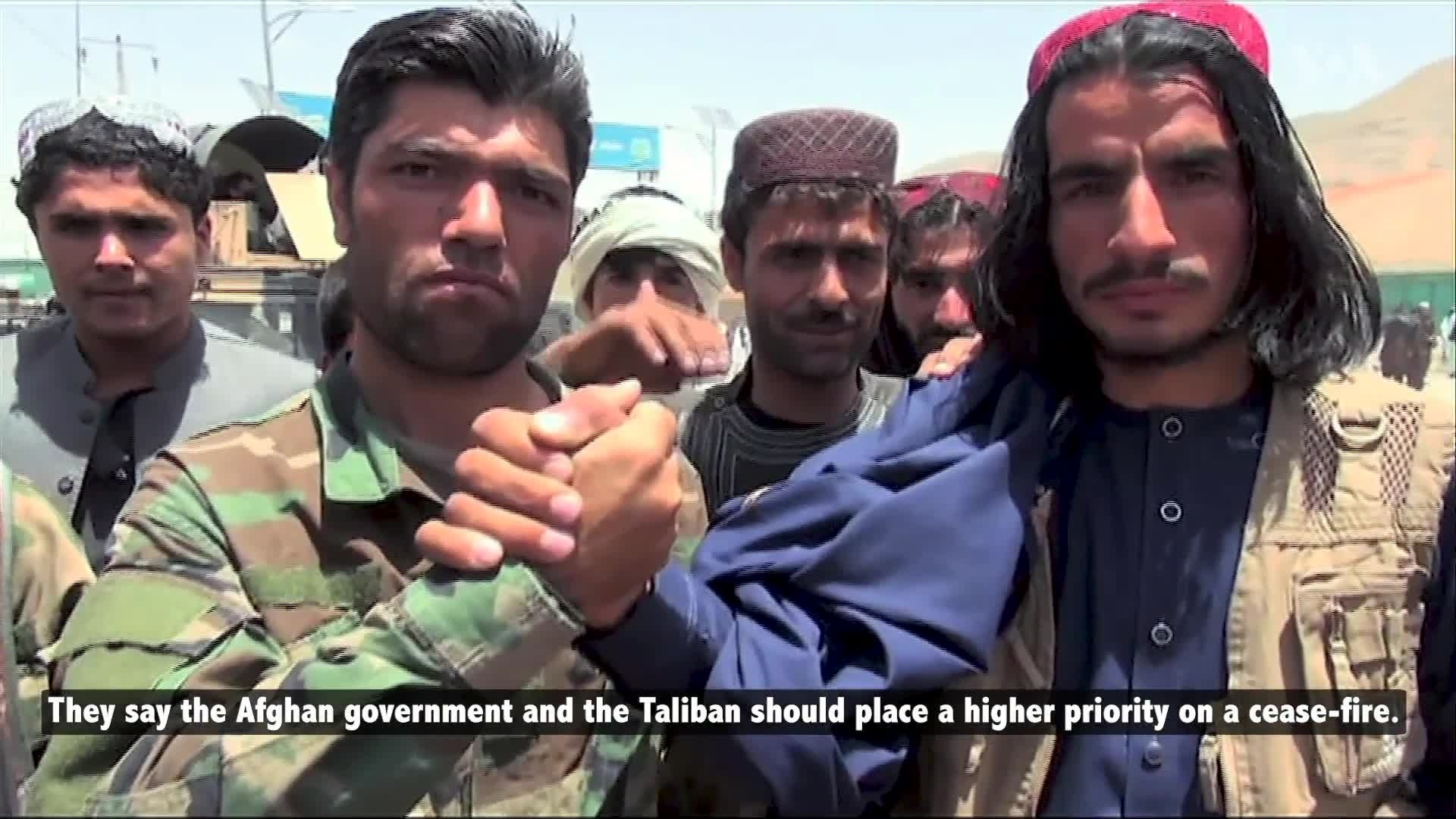 Afghan Civilians: Cease-fire Top Priority for Intra-Afghan Talks