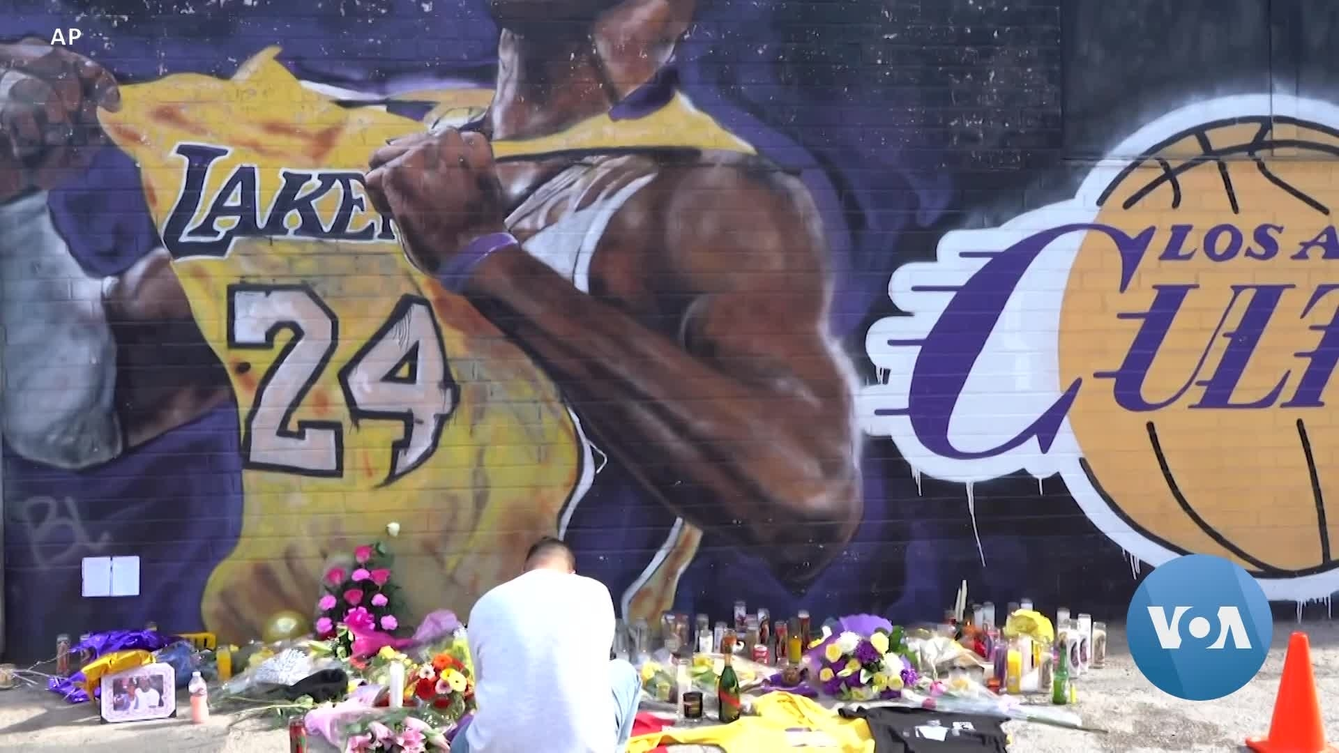 Murals Dedicated to Kobe Bryant Draw Mourners in Los Angeles