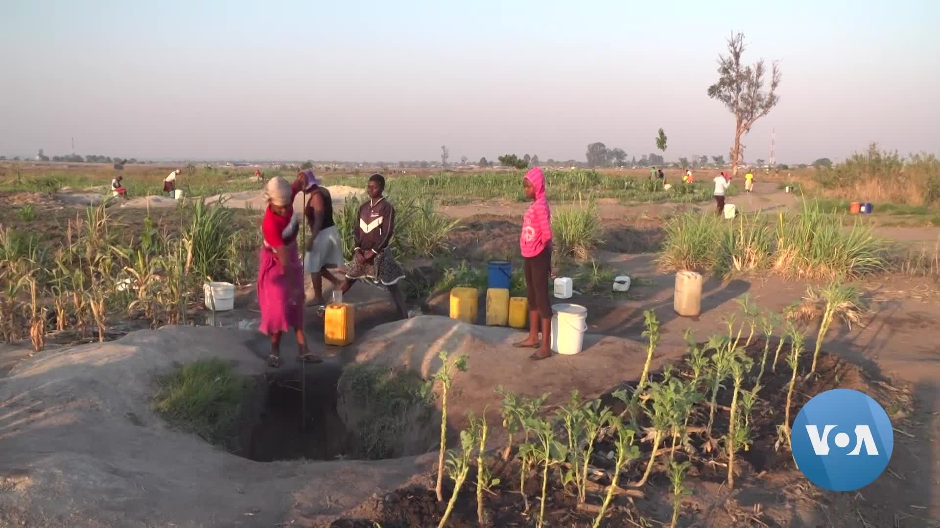 Harare's Water Shortages Force Community to Use Graveyard Wells