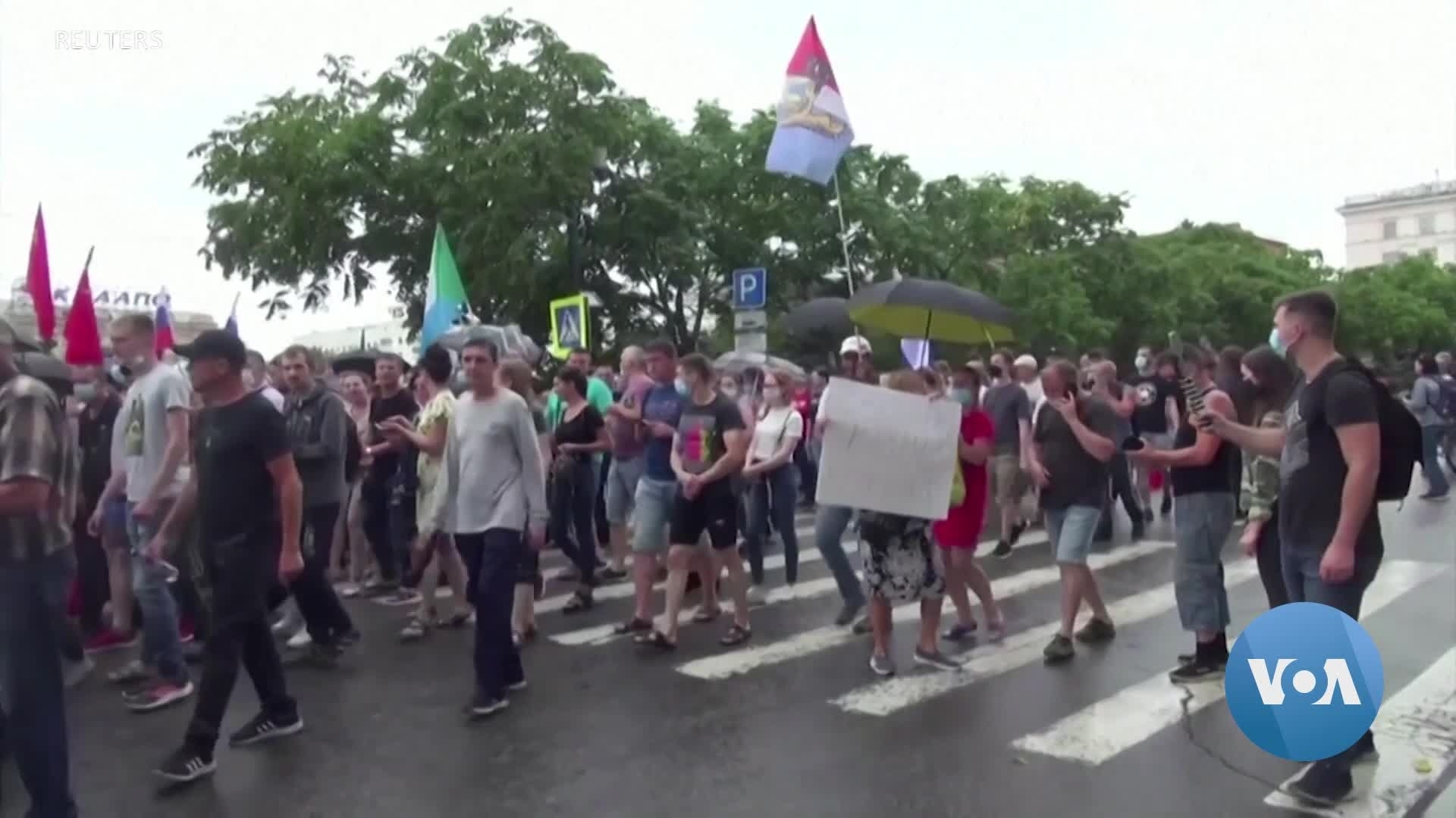 Protests Swell in Russia's Far East