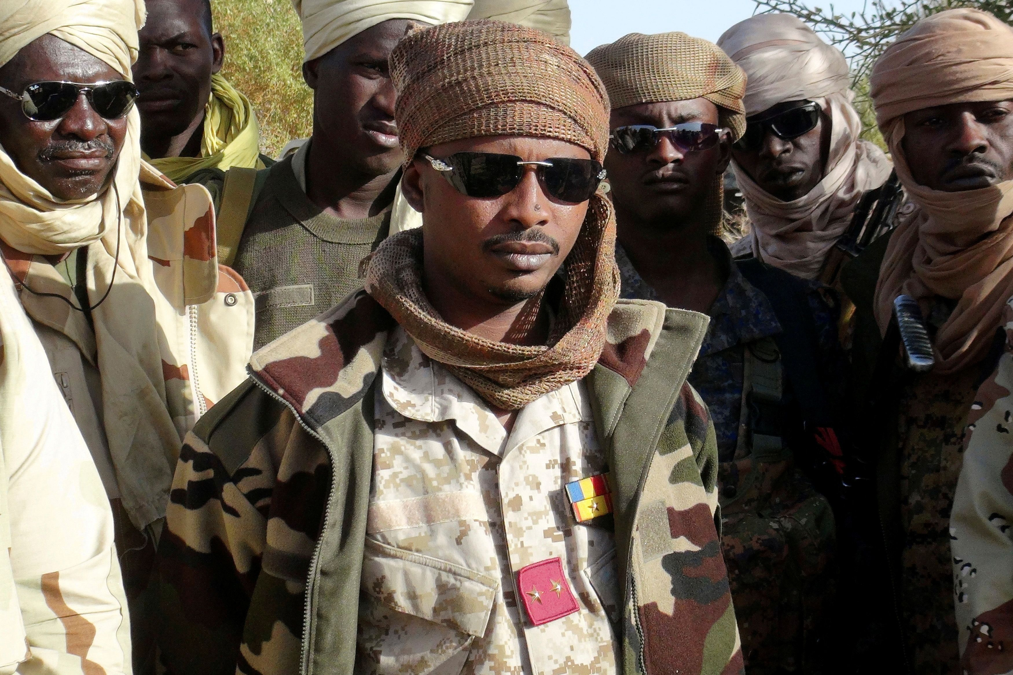 Chad's New Leader Visits Niger in 1st International Trip