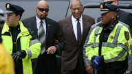 Actor and comedian Bill Cosby, center right, arrives for a court appearance, Feb. 3, 2016, in Norristown, Pennsylvania. Cosby was arrested and charged with drugging and sexually assaulting a woman at his home in Jan. 2004.