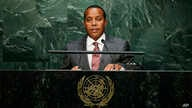 Patrice Trovoada, Prime Minister of Sao Tome and Principe, at the United Nations headquarters, Sept. 26, 2015.