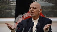 Afghan president Mohammad Ashraf Ghani speaks during a press conference at Presidential Palace in Kabul on June 30, 2018.