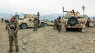 Afghan National Army troops prepare for an operation against insurgents in Khogyani district of Nangarhar province, Afghanistan, Nov. 28, 2017.