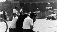 WWII Japanese Mourn VJ Day 1945