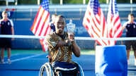 Lucas Sithole won the wheelchair quad singles final in September at the U.S.Open and hopes to play in the 2016 Brazil Paralympics (Courtesy U.S. Tennis Association)