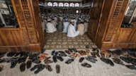 Students attend a lesson at Darul Uloom Haqqania, an Islamic seminary and alma mater of several Taliban leaders, in Akora Khattak, Khyber Pakhtunkhwa province, Sept. 14, 2013. Thirty thousand madrassas operate across Pakistan; thousands are not regis